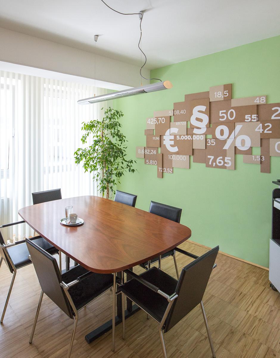 Büro Raumgestaltung für Horst Neuhäusel von der Werbeagentur look! design