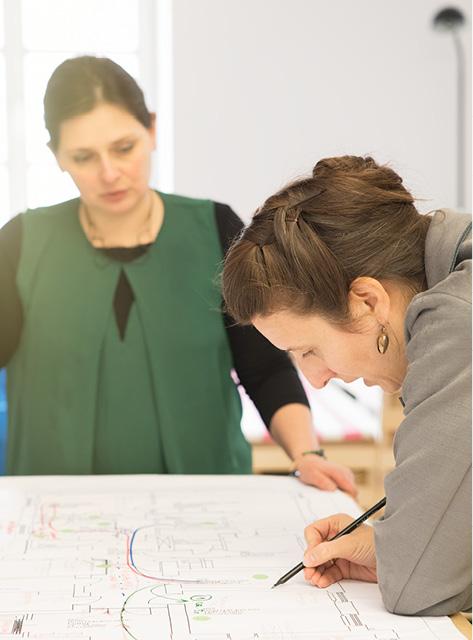 Werbeagentur look! design: behind the scenes bei der Projektarbeit