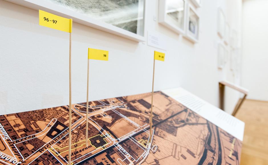 Ausstellungsgrafik von Kreativagentur look design für GrazMuseum