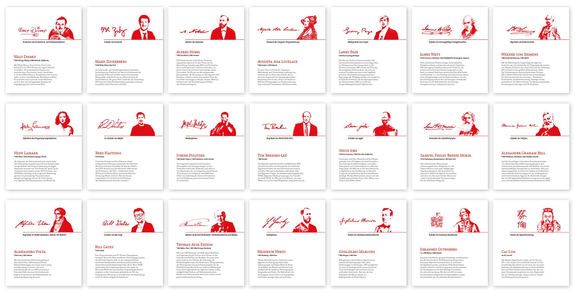 Raumschilder: Leitsystem für Russmedia von der Werbeagentur look! design