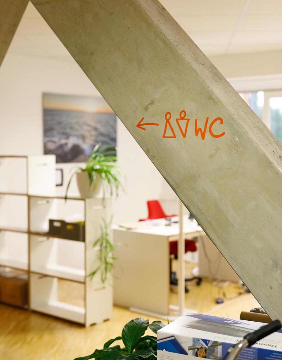 Büro Raumgestaltung für blueLAB - Coworking-Space im Rondo - von Werbeagentur look! design