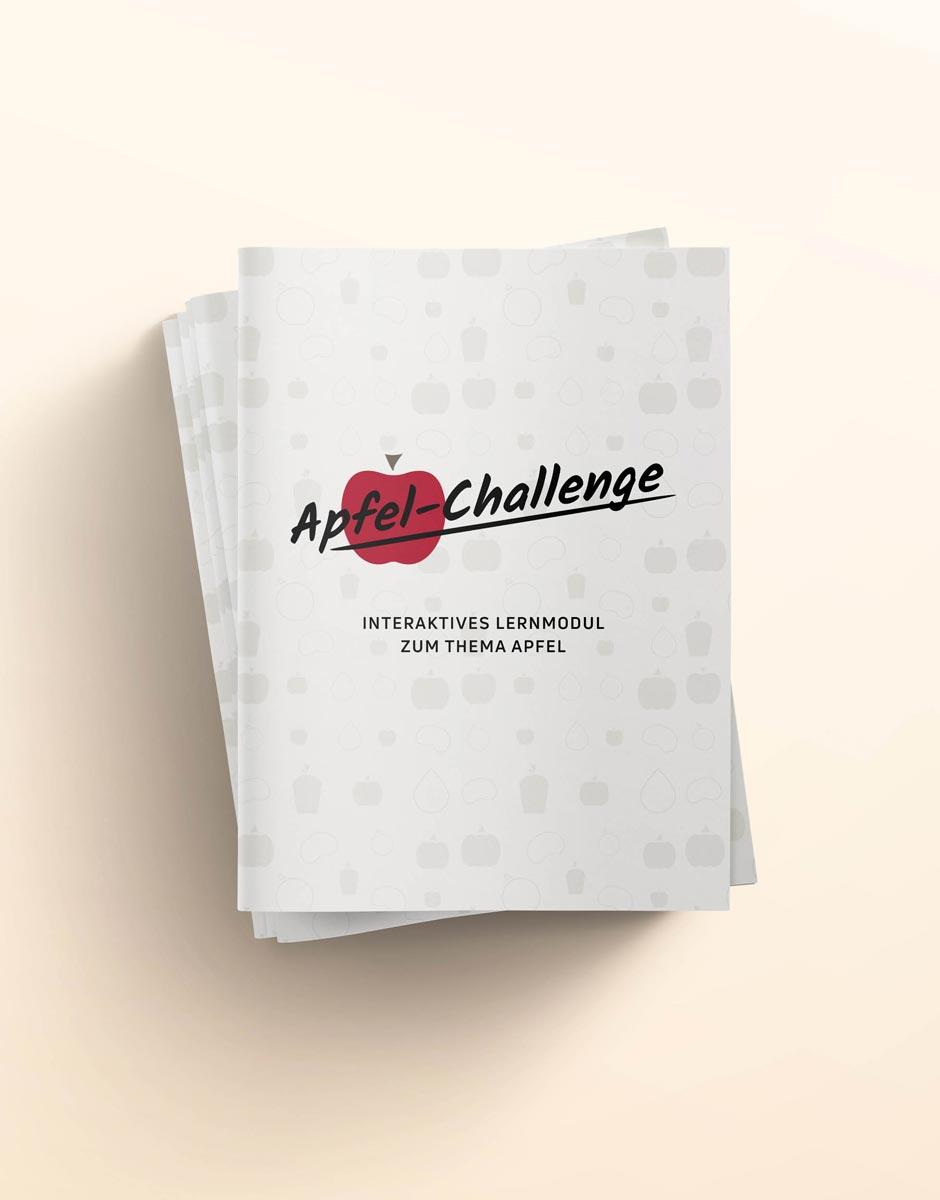 """Folder: Wissenskisten """"Flagship Products"""" für die Qualifizierungsagentur von der Werbeagentur look! design"""