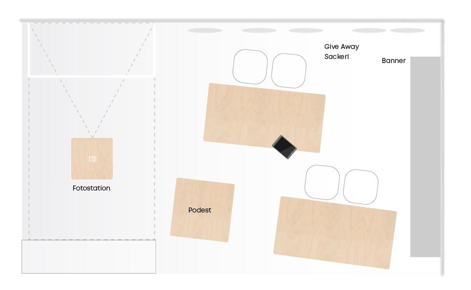 Messestand Design von Werbeagentur look design für voestalpine