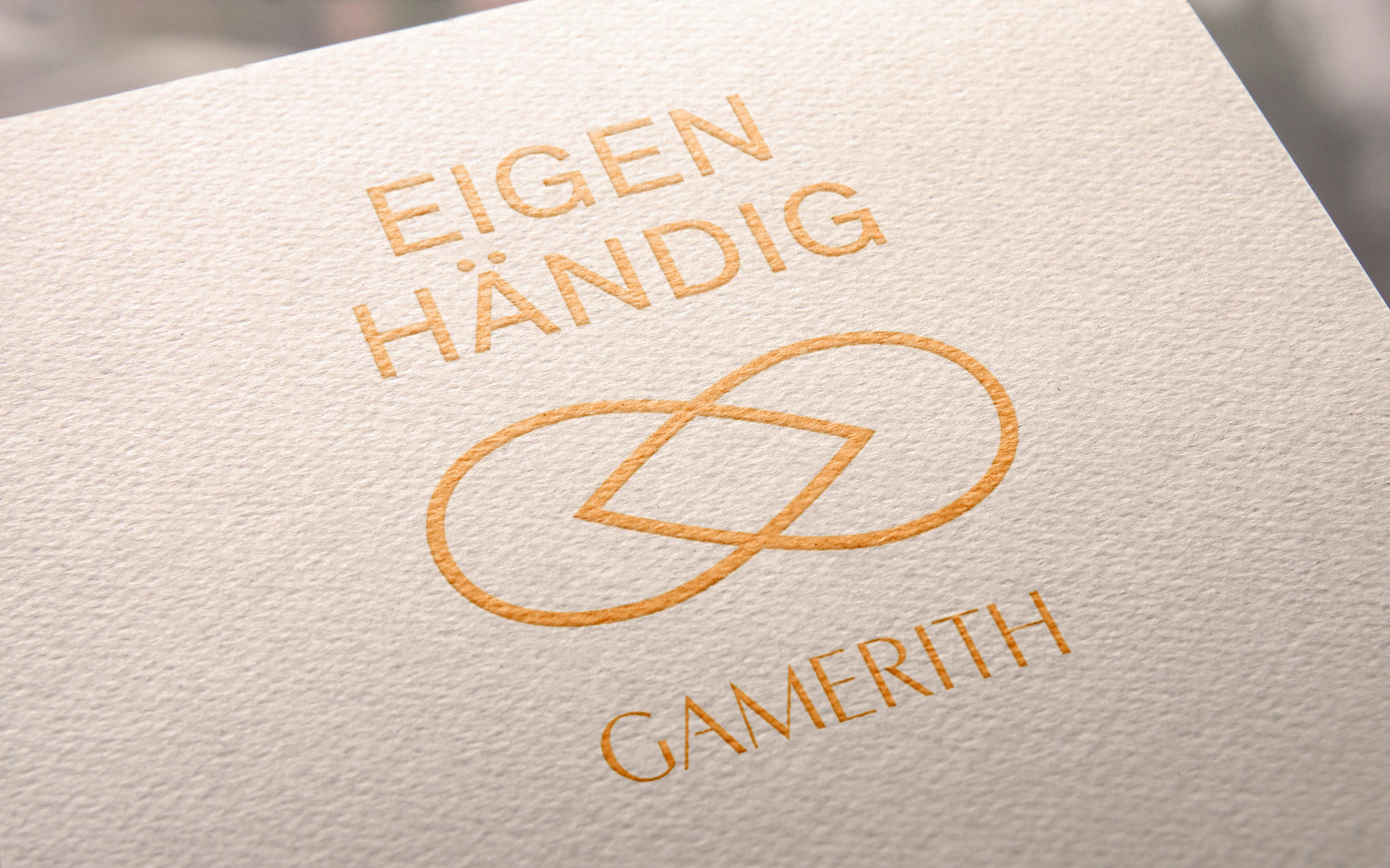 Logo für das Atelier Gamerith von der Werbeagentur look! design