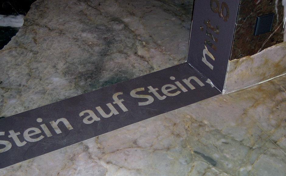 Ausstellungsgrafik für den Geopark Karnische Alpen von der Werbeagentur look! design