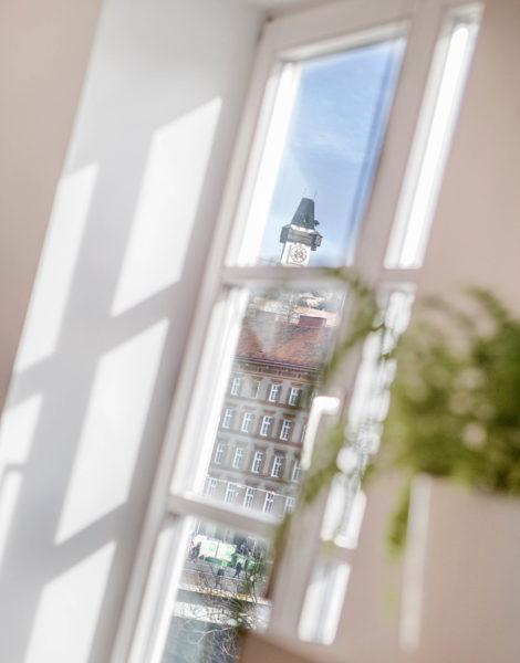 Ausblick aus dem Büro der Grazer Werbeagentur look! design