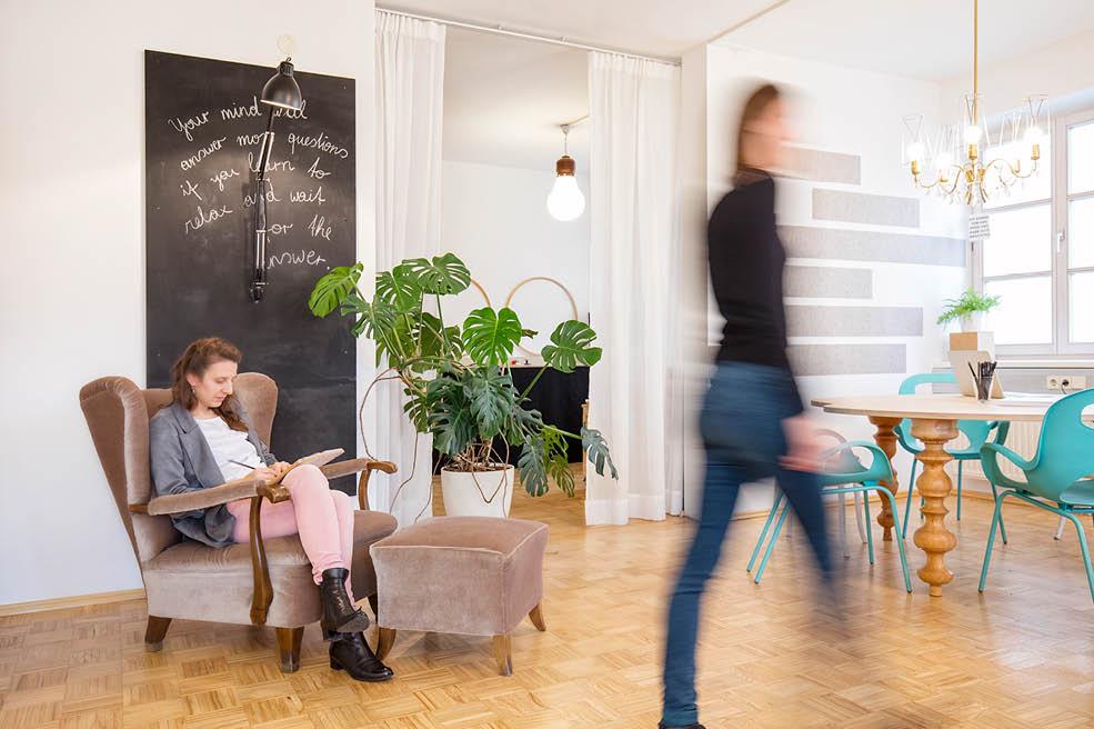 Werbeagentur look! design: Einblick ins Büro