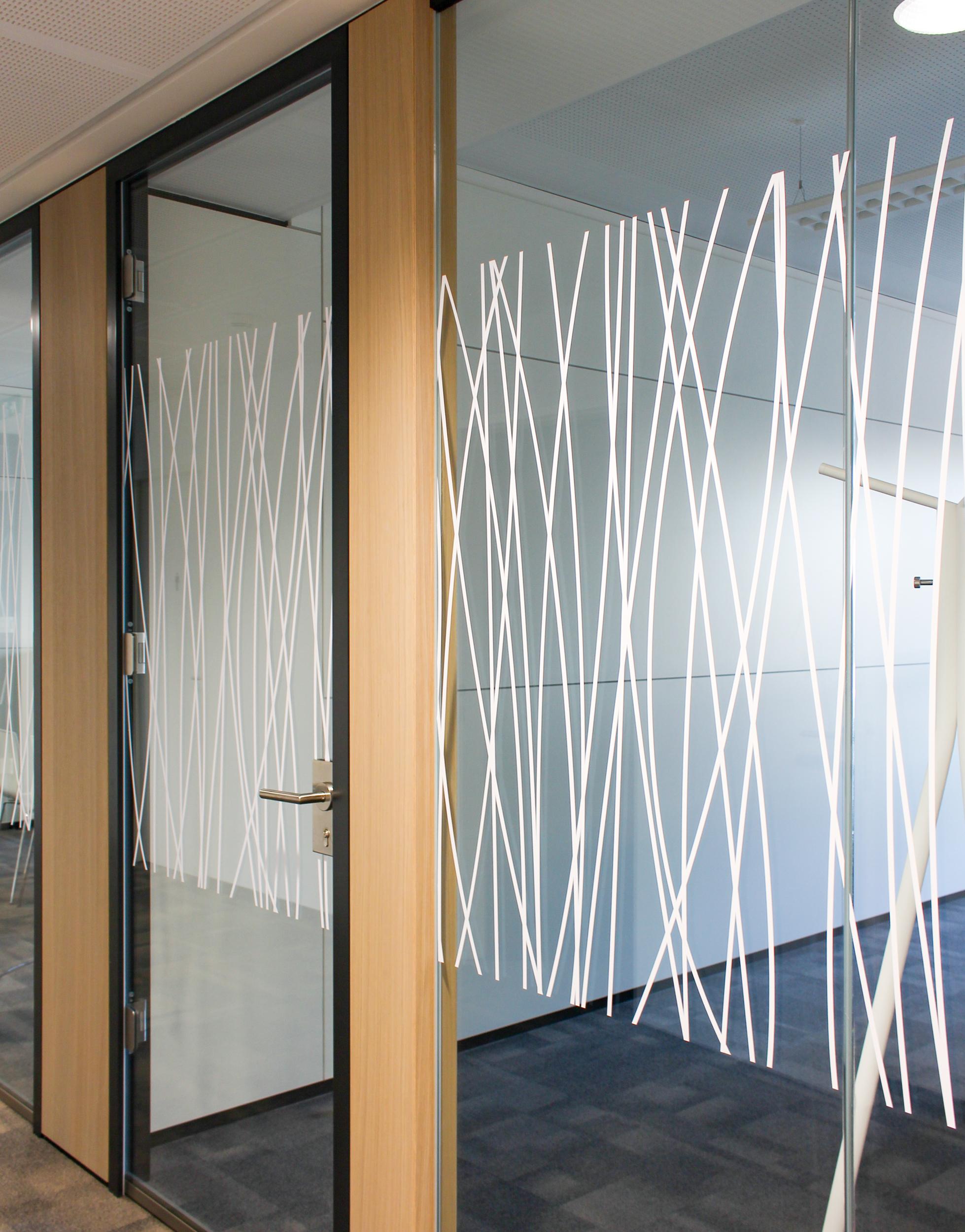 Bürogestaltung für CREE by Rhomberg Bau von der Designagentur look! design