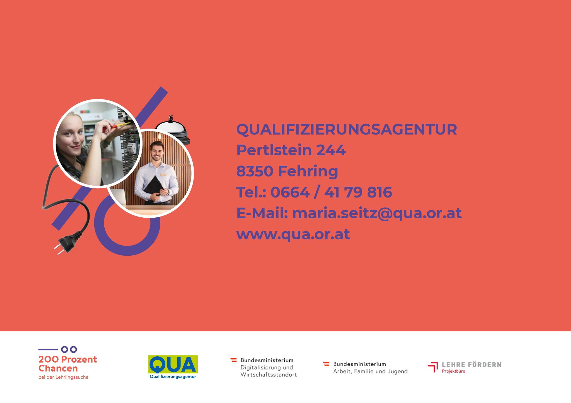 Webauftritt für das Projekt 200 Prozent Chancen von der Designagentur look! design